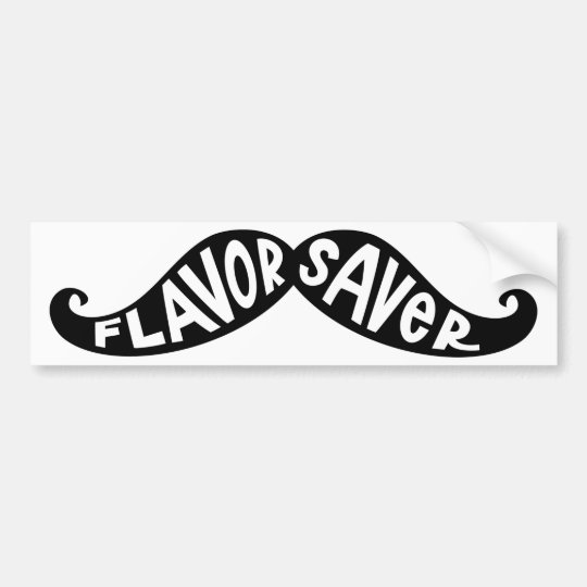 Flavor Saver Bumper Sticker