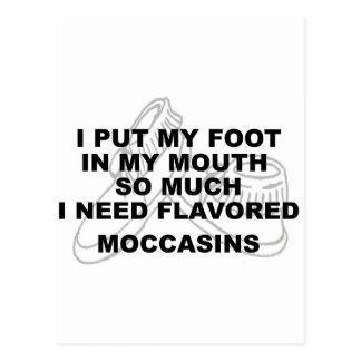 Flavored Mocassins Post Cards