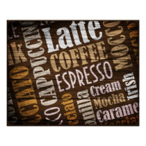Flavors of Coffee Poster