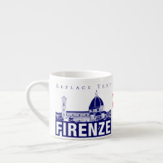 Flavors of Florence, Italy Espresso Cup