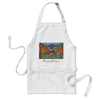 Flavours of Provence Apron by Lisa Lorenz