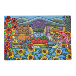 Flavours of Provence Laminated Placement Placemat