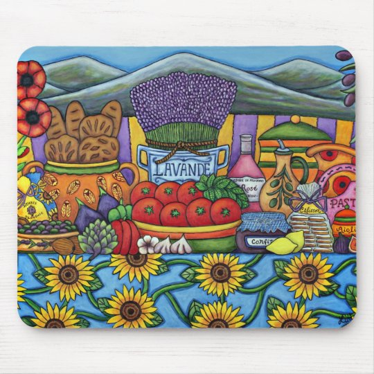 Flavours of Provence Mousepad