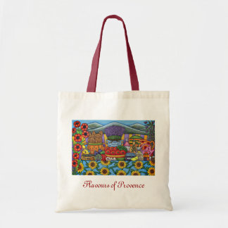 Flavours of Provence Shopping Bag by Lisa Lorenz