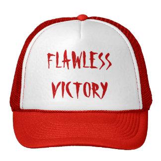 """Flawless Victory"" t-shirt Trucker Hat"