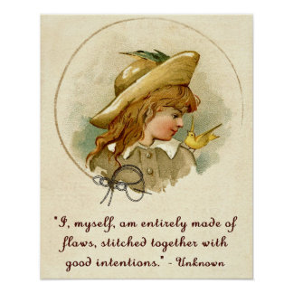 Flaws and Good Intentions Poster