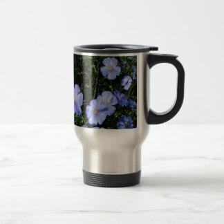 Flax in Bloom Travel Mug