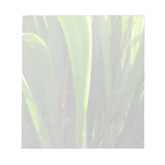 Flax Leaves Memo Note Pad