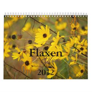 Flaxen Glow Calendar 2012