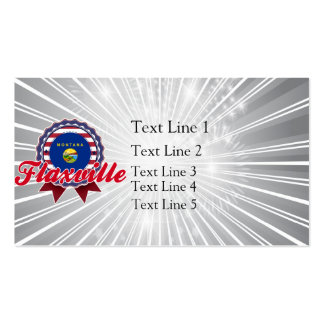 Flaxville, MT Business Card Templates