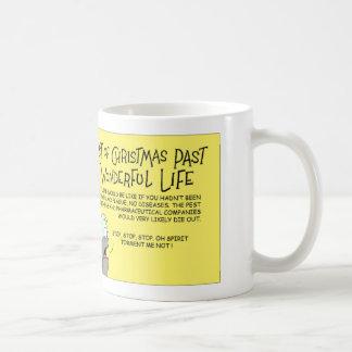 Flea and Christmas past Coffee Mug