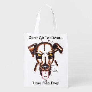 Flea Dog Reusable Bag