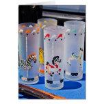 Flea Market Card - Bar Glass Zoo