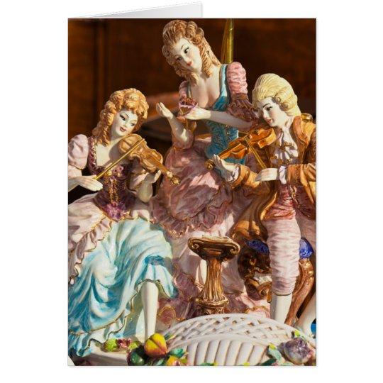 Flea Market Card - Baroque Band