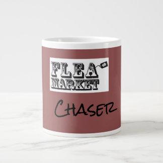 Flea market chaser giant coffee mug