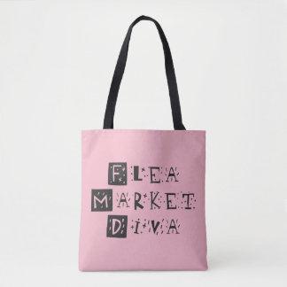 Flea Market Diva Tote Bag