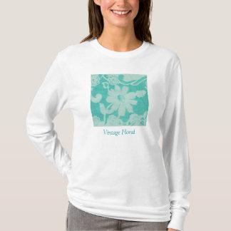 FLEA MARKET FLORA I, Vintage Floral T-Shirt