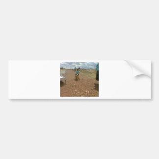 Flea Market Kid Bumper Sticker