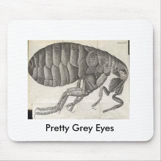 Flea, Pretty Grey Eyes Mouse Pad