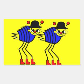 Flea Rectangular Sticker