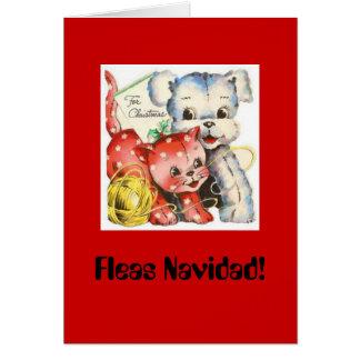 Fleas Navidad Christmas Card