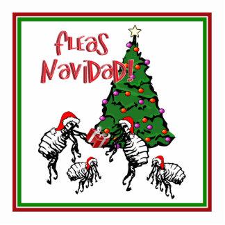 FLEAS NAVIDAD - Christmas Fleas and Christmas Tree Cut Outs
