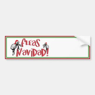 Fleas Navidad - Dancing Christmas Fleas Bumper Stickers