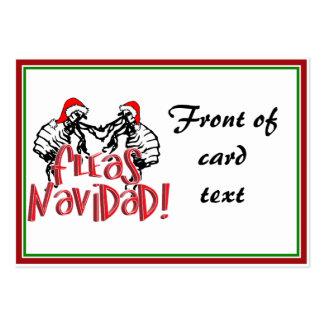 Fleas Navidad - Dancing Christmas Fleas Business Card