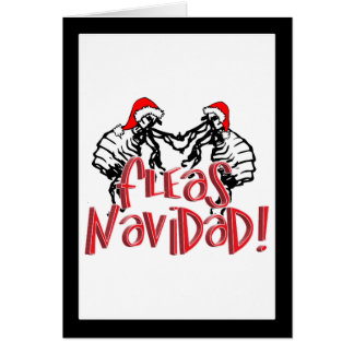 Fleas Navidad - Dancing Christmas Fleas Cards