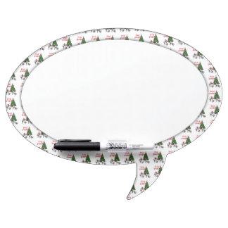 Fleas Navidad - Dancing Christmas Fleas Dry-Erase Whiteboard