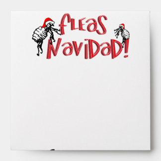 Fleas Navidad - Dancing Christmas Fleas Envelope