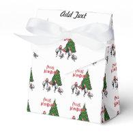 Fleas Navidad - Dancing Christmas Fleas Party Favor Box