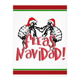 Fleas Navidad - Dancing Christmas Fleas Invite