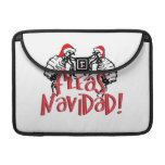 Fleas Navidad - Dancing Christmas Fleas MacBook Pro Sleeve