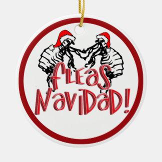 Fleas Navidad - Dancing Christmas Fleas Ornament