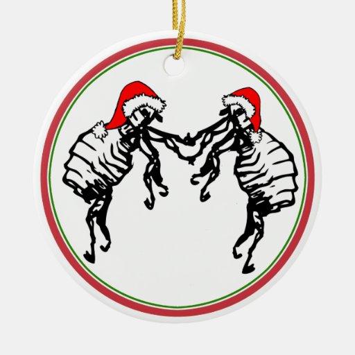 Fleas Navidad - Dancing Christmas Fleas Christmas Ornaments