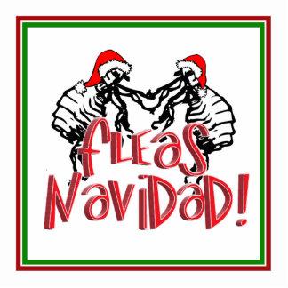 Fleas Navidad - Dancing Christmas Fleas Photo Sculptures