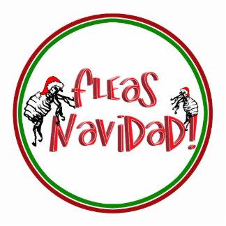Fleas Navidad - Dancing Christmas Fleas Photo Sculpture