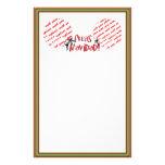 Fleas Navidad - Dancing Christmas Fleas Stationery Paper