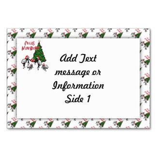 Fleas Navidad - Dancing Christmas Fleas Table Cards