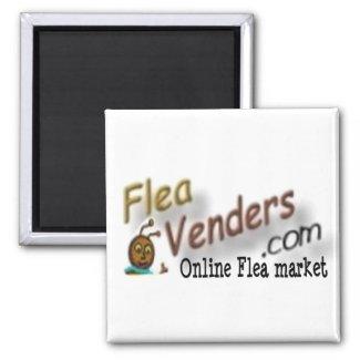 FleaVenders.com Promotional Magnet