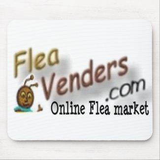 FleaVenders.com promotional mouse pad