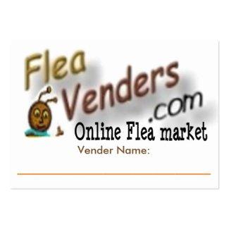 FleaVenders.com Promotional Venders Business Card