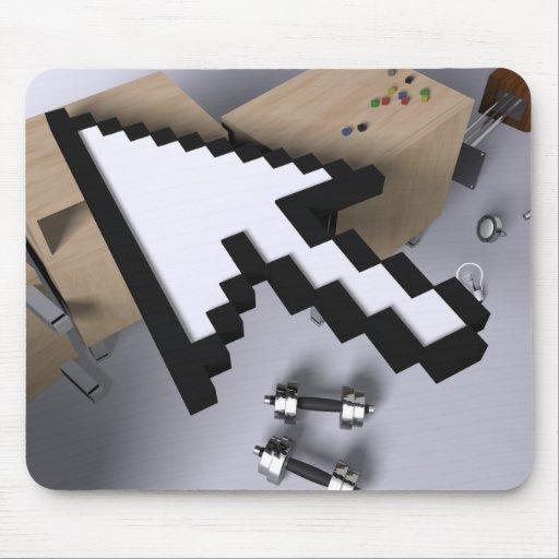 flecha 3D Mouse Pads