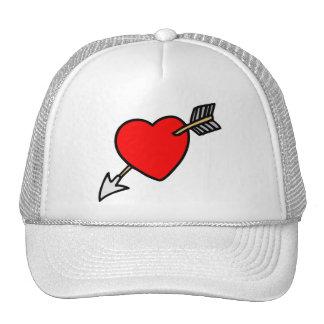 Flecha a través del corazón - L Gorras De Camionero