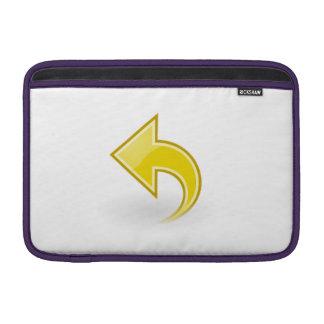 Flecha amarilla fundas MacBook