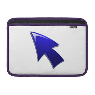 Flecha azul funda para macbook air