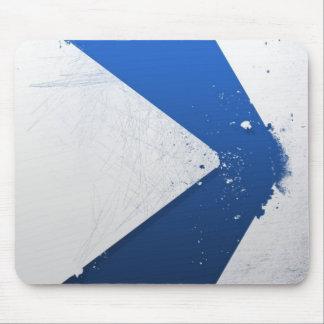 Flecha azul Mousepad de Desctruction Alfombrillas De Ratones