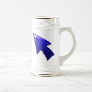 Flecha azul jarra de cerveza