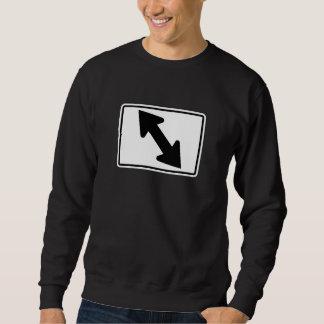 Flecha bidireccional (1), señal de tráfico, los jersey
